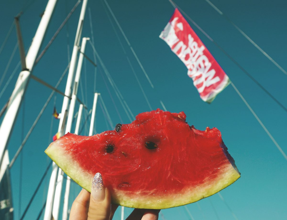 watermelon sailing week party travel grece vacantion calatorie blogger